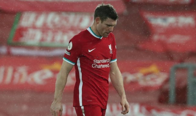 James Milner la tête basse