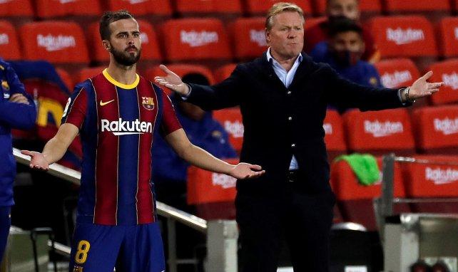 Ronald Koeman et le Barça perdent patience avec Miralem Pjanic