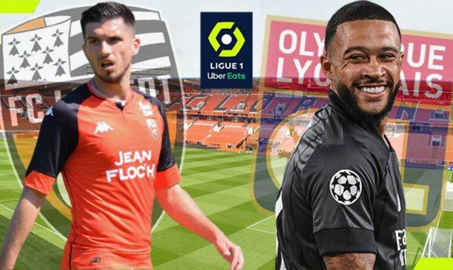 Lorient reçoit l'Olympique Lyonnais pour le compte de la 5e journée de Ligue 1