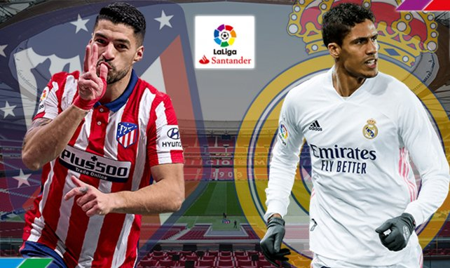 Atlético - Real Madrid : les compositions du derby