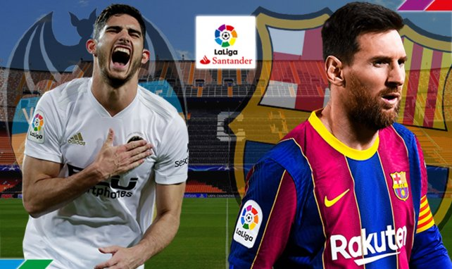 Valence - FC Barcelone : les compositions probables