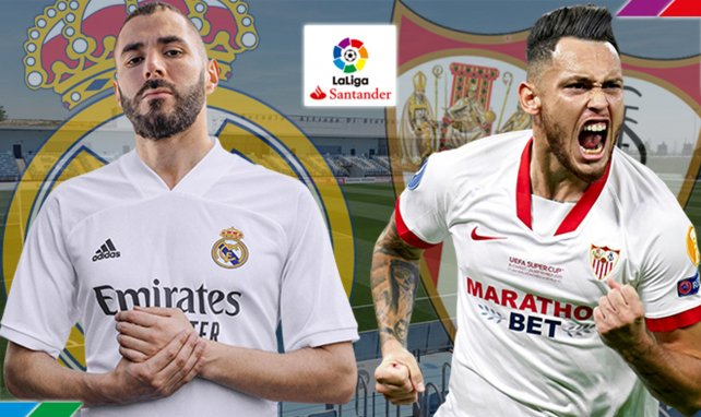 Real Madrid-Séville FC : les compositions officielles