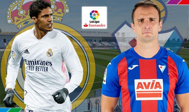 Real Madrid - Eibar : les compositions probables