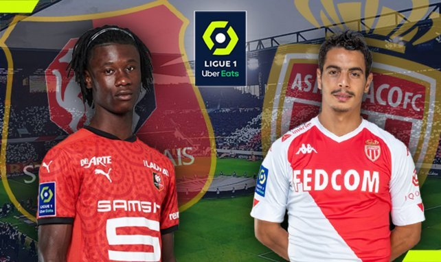 Stade Rennais-AS Monaco : les compositions officielles !