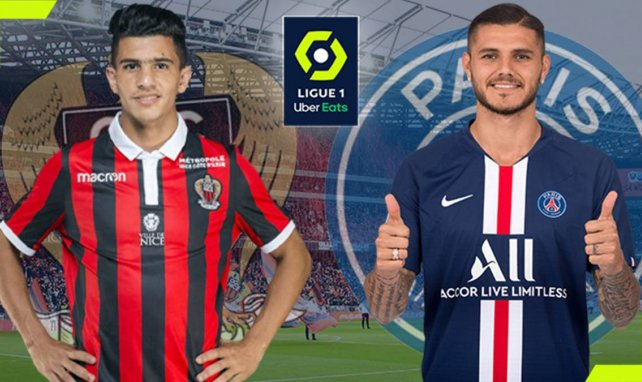 OGC Nice-PSG : les compositions officielles
