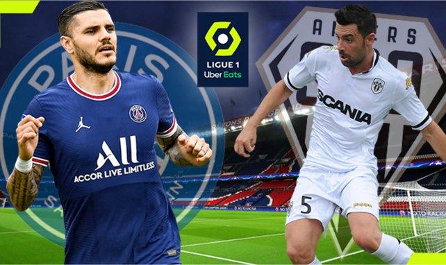 PSG-Angers : les compositions officielles