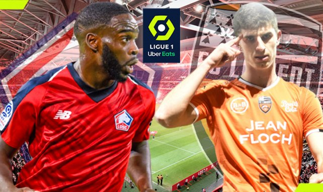 LOSC-Lorient : les compositions officielles