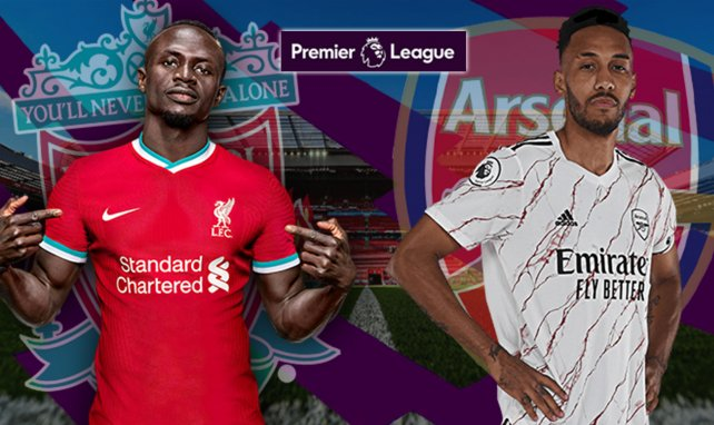 Liverpool - Arsenal : les compositions officielles