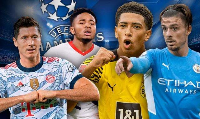 Ligue des Champions : l'équipe type de la 1ère journée