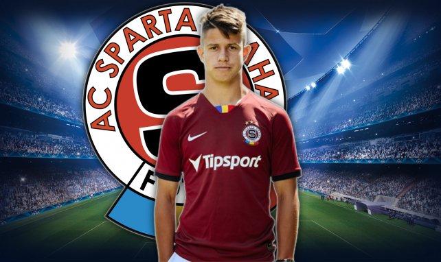 Adam Hložek grand talent du Sparta Prague