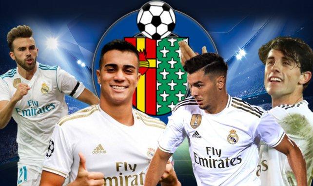 Getafe a quatre joueurs du Real Madrid dans le viseur