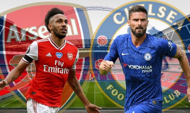 Arsenal-Chelsea, les compositions de départ de la finale