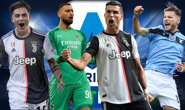 Le onze type de la saison 2019/2020 de Serie A