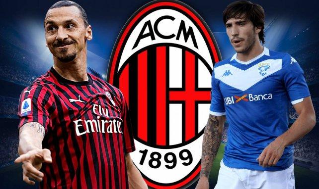 Zlatan Ibrahimovic et Sandro Tonali vont évoluer ensemble à l'AC Milan