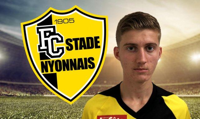 idriz Bega, le joueur du FC Stade Nyonnais