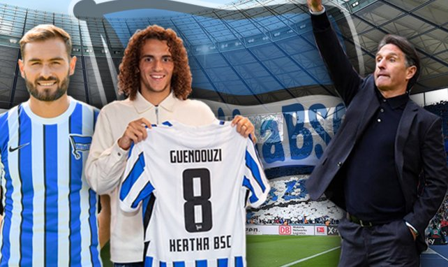 Le Hertha Berlin a recruté Guendouzi le dernier jour du mercato