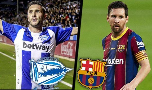 Suivez la rencontre Deportivo Alavés-FC Barcelone en direct commenté