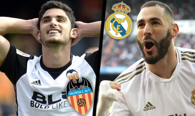 Les compositions probables de Valence - Real Madrid