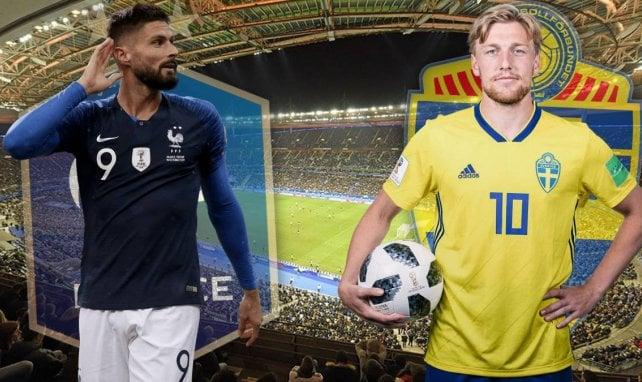 France – Suède : les Bleus en tête du groupe