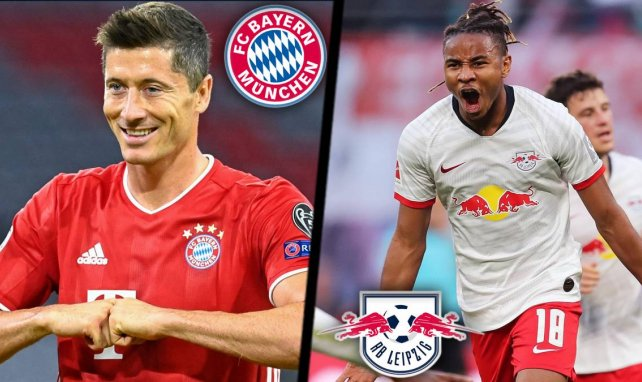 Bayern Munich - RB Leipzig : les compositions probables