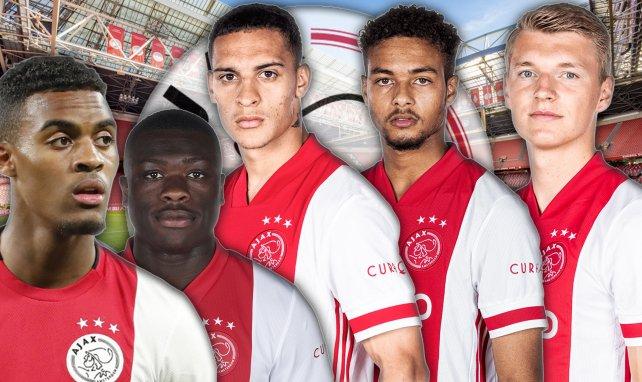 rr Schuurs, Devyne Rensch, Ryan Gravenberch, Antony et Brian Brobbey sont les nouvelles pépites de l'Ajax