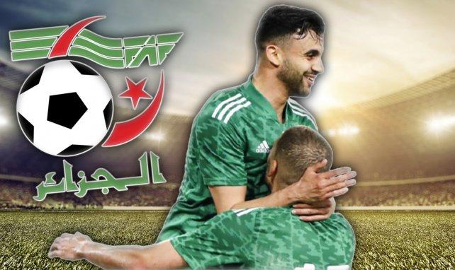 Rachid Ghezzal avec l'Algérie
