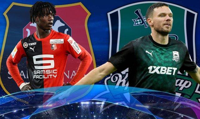Stade Rennais Fk Krasnodar Les Compositions Sont Tombees