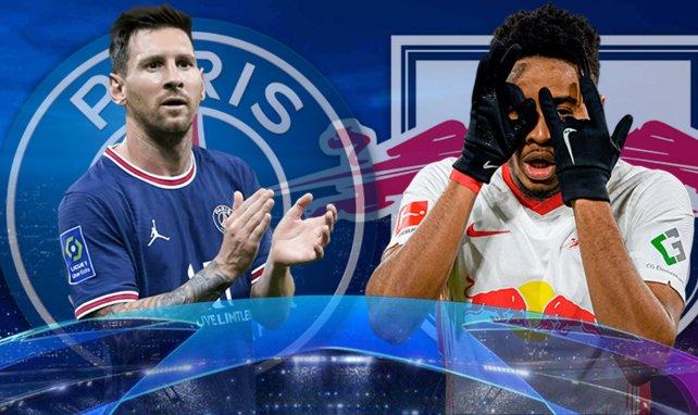 PSG - RB Leipzig : les compositions probables