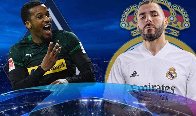 Mönchengladbach - Real Madrid : les compos probables