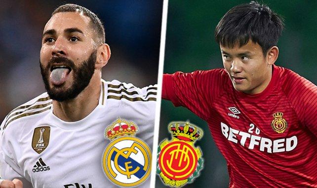 Les compos probables de Real Madrid -  Mallorca