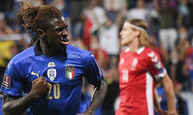 Juventus : Moïse Kean évoque la succession de Cristiano Ronaldo