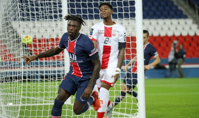PSG : Moïse Kean a lancé son aventure parisienne mais...
