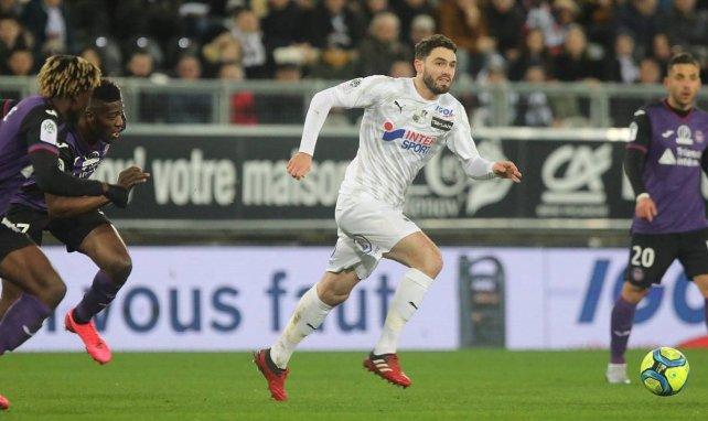 Thomas Monconduit avec Amiens contre Toulouse