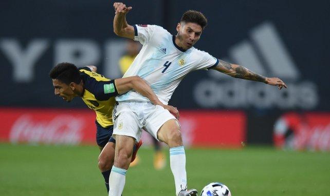 Gonzalo Montiel avec l'Argentine