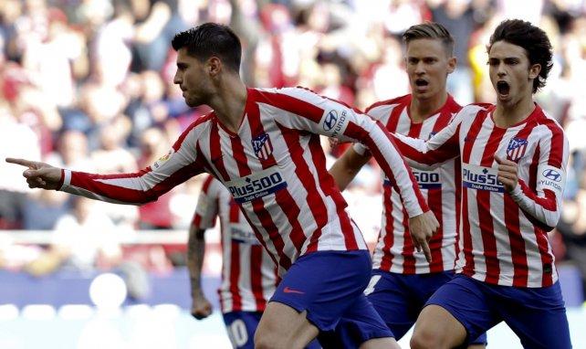 Liga : l'Atlético s'impose facilement contre Majorque