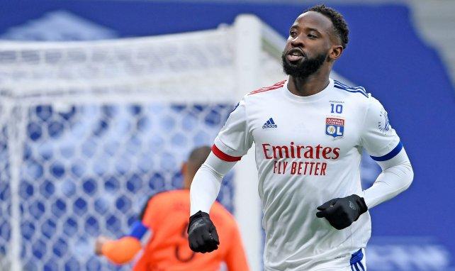 Moussa Dembélé sous le maillot lyonnais