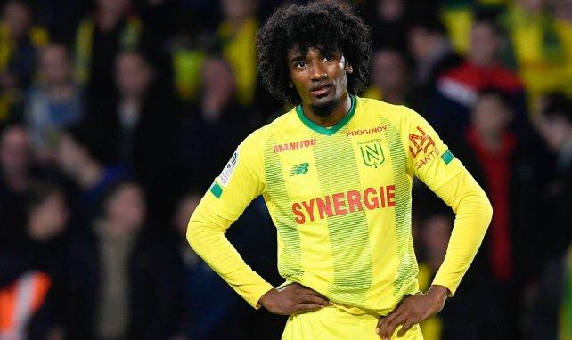 Samuel Moutoussamy sous le maillot du FC Nantes