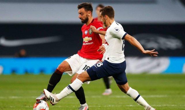 Bruno Fernandes a fait du mal à la défense de Tottenham