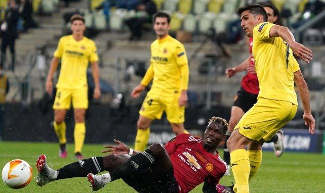 Paul Pogba à la lutte avec Gerard Moreno