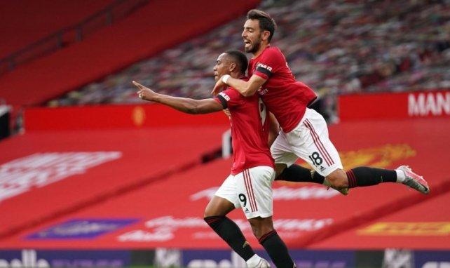 Anthony Martial élu joueur de l'année à Manchester United