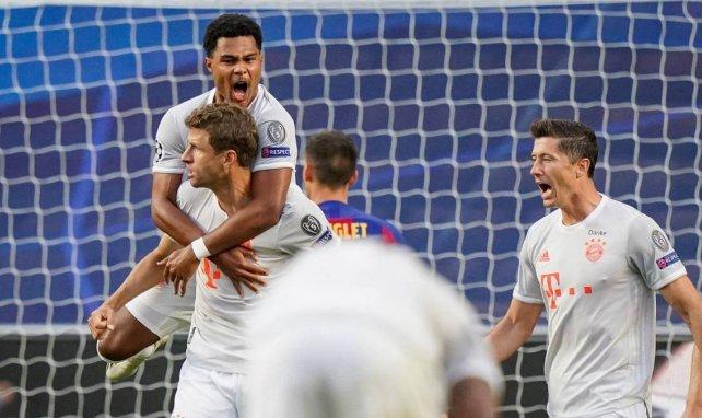 Barça-Bayern : Thomas Müller compare le match avec Allemagne-Brésil