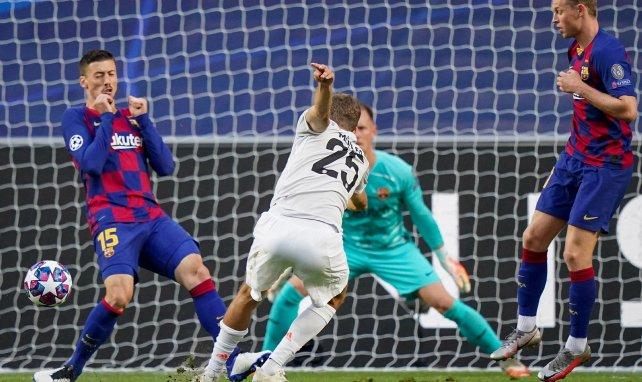 Bayern : la folle stat de Müller face au Barça