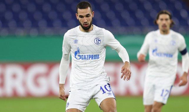 Nabil Bentaleb sous les couleurs de Schalke 04