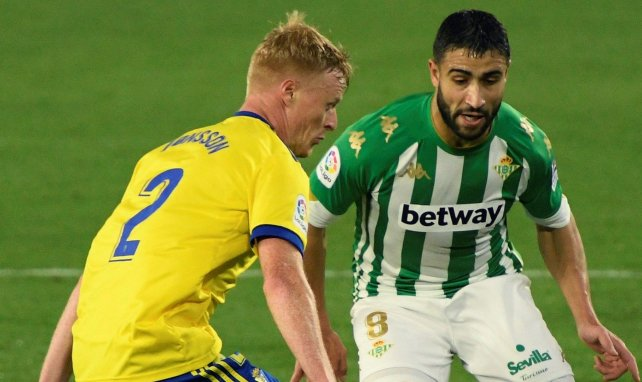 Nabil Fekir sous les couleurs du Betis Seville en Liga