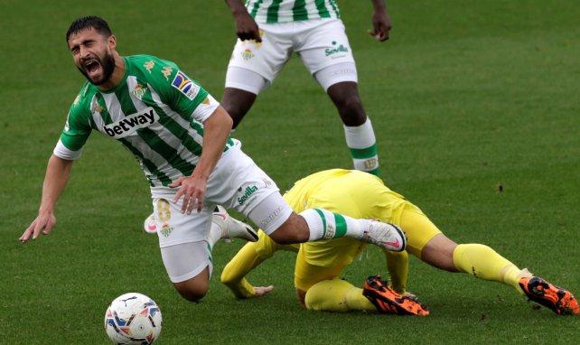 Nabil Fekir con el Real Betis