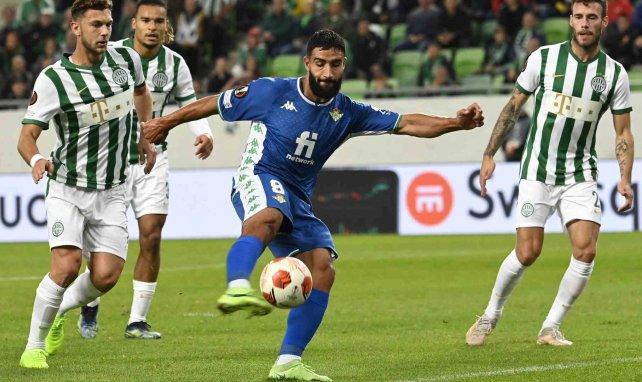 Nabil Fekir marque contre Ferencváros