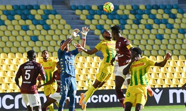 Ligue 1 : Nantes ne parvient pas à enchaîner contre Metz