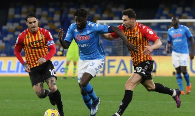 Serie A : Naples remporte le derby face à Benevento