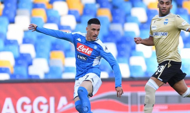 José Callejon avec le Napoli