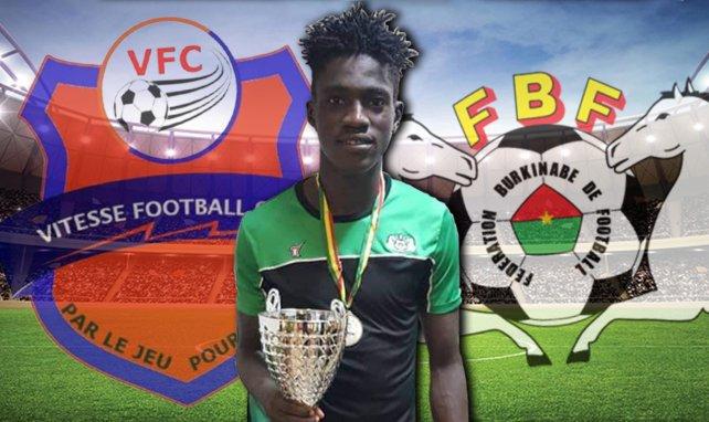 Nasser Djiga, talent en devenir du Burkina Faso
